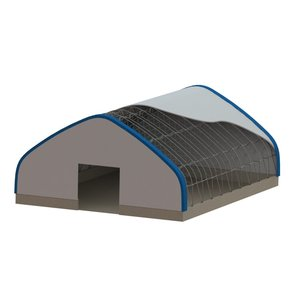 Gable Profile Fabric Building