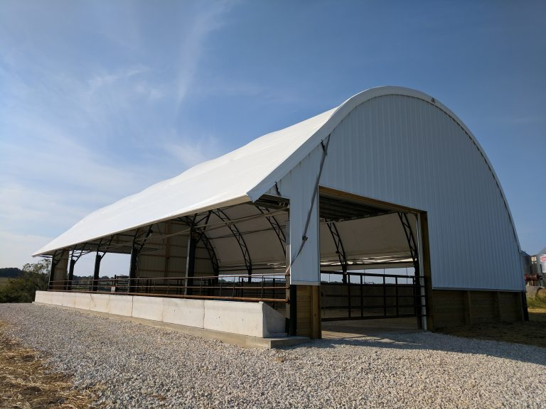 Fabric Buildings for Dairy and Cattle