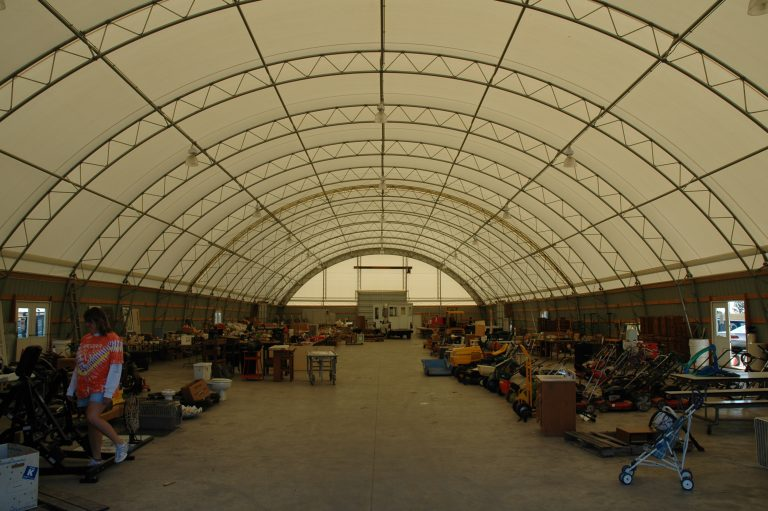 Fabric Buildings for Warehousing